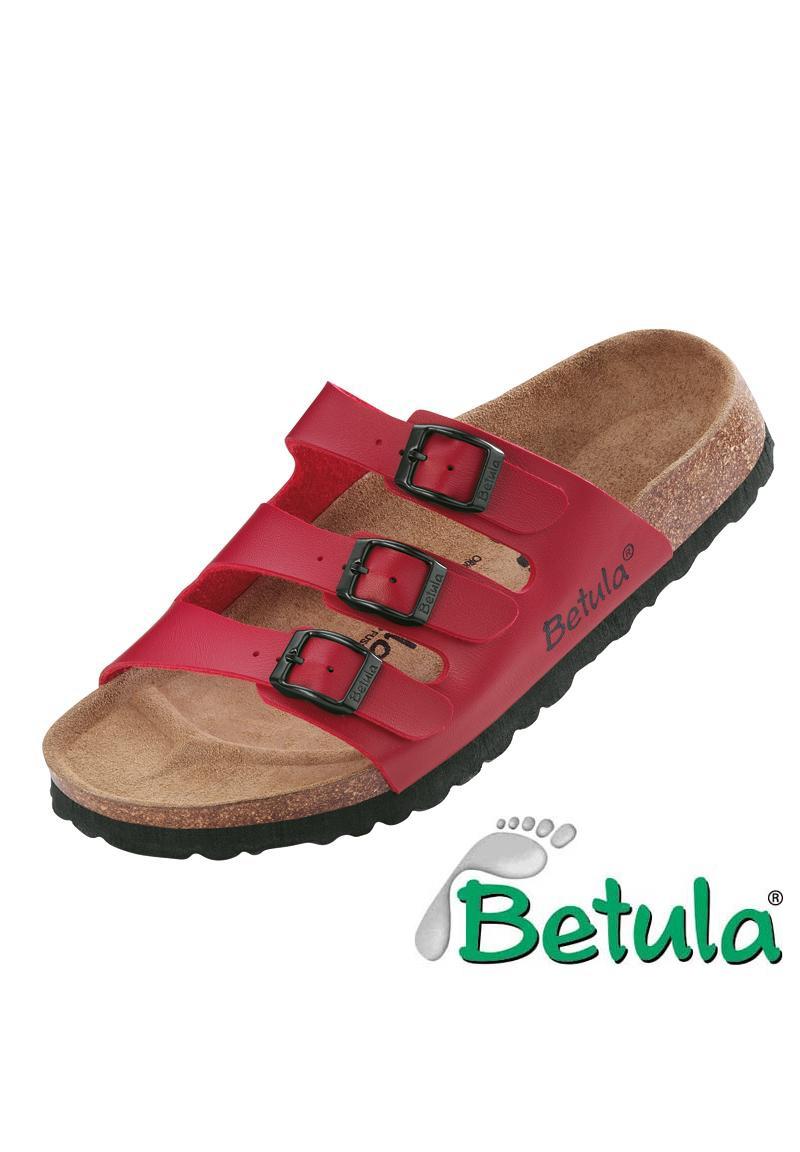 NEU-BETULA-Boogie-Woogie-Damen-Herren-Sandalen-Schwarz-Weiss-Braun-Blau-Rot